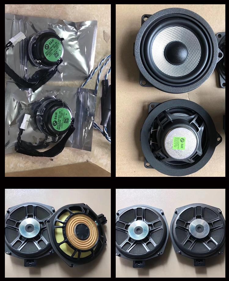 Fundas de tweeter de alta calidad para BMW X3 X4 2018 altavoces de audio trompeta cabeza altavoz de agudos ABS material original ajuste del modelo - 6