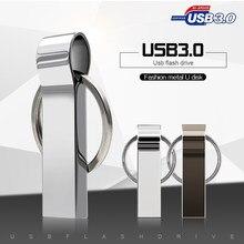 Hohe Qualität 128GB usb-stick metall USB-stick 3,0 Pen Drive 8g 16G 32GB 64GB cle usb memory stick 256gb-stick