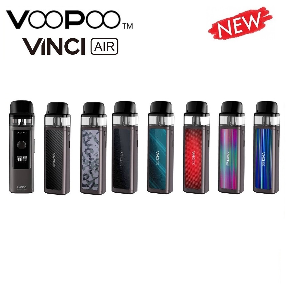Original VOOPOO VINCI AIR Pod Kit 900mAh Battery & 4ml Pod System & GENE.AI Chip MTL Vaping Vaporizer VS Caliburn Kit / Vinci X