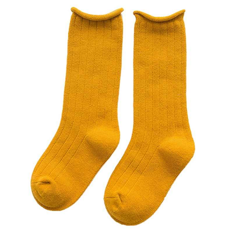 0-10 T الاطفال طويلة بلون الجوارب منتصف أنبوب الطفل القطن الجمال كاندي الألوان الأطفال تدفئة الجوارب الفتيان الفتيات