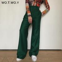 Свободные брюки-клеш Цена 1528 руб. ($18.95) | 82 заказа Посмотреть