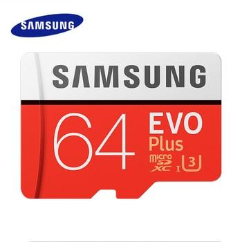 Original Samsung micro sd Card 100MB/s C10 U3 4K 32GB 64GB 128GB 256GB  tf card micro sd carte SDHC SDXC Memory card