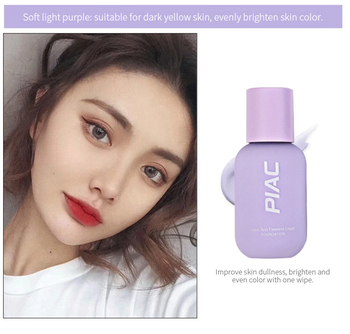PIAC Small Bottle Isolation Cream Long-lasting Brighten Moisturizing Makeup Front Concealer Cream Pores Concealer Makeup image