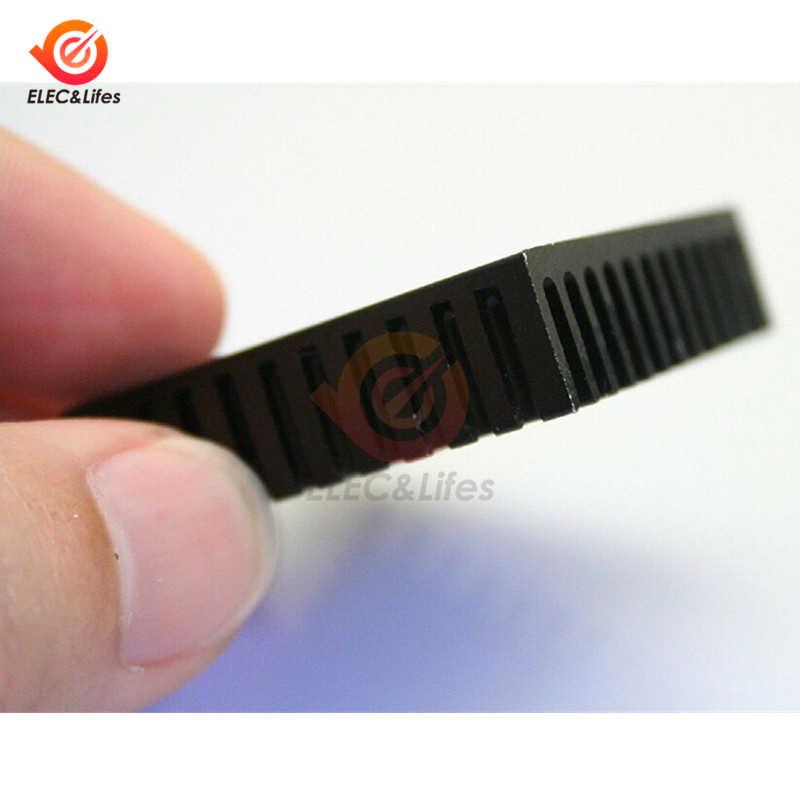 40 × 40 × 11 ミリメートルアルミ用のヒートシンクヒートシンクdiy電子チップic led電源ラジエーター冷却クーラー 40 ミリメートル * 40 ミリメートル * 11 ミリメートル