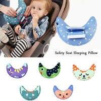 CDCOTN-hombreras de algodón con dibujos animados en forma de U para cinturón de seguridad de coche, funda de seguridad para asiento, almohada, protección del cuello antifricción para niños y bebés