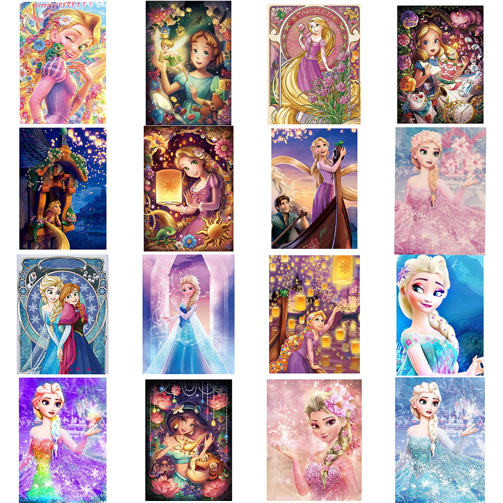 5D Diamond Painting Full SquareRound Drill Cartoon Cars Cross Stitch Kits Resin Rhinestone Mosaic Embroidery Diamond Home Wall Decor Gifts