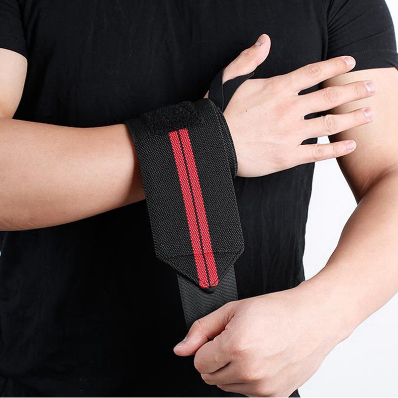 Weight Lifting Strap Fitness Gym Sport Wrist Wrap Bandage Hand Support Wristband (8)