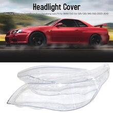 2PCS For BMW E60 E61 525i 530i 545i 550i 2003 2010 Headlight Clear Cover Front Headlamp Lens Car Headlamp Car Accessory Parts