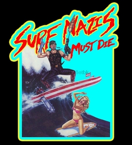 80 Troma Cult Classic Surf Nazis Must Die Poster Art custom tee Any Size(China)