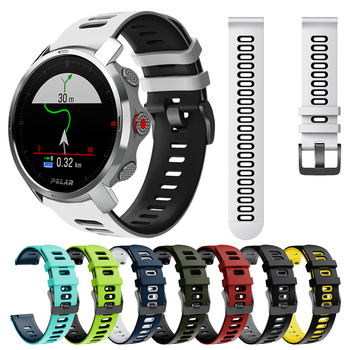 Replaceable accessories wristband for Polar Grit X Strap Smart Watch Silicone Band POLARGRITX Watchband Bracelet Correa Belt - discount item  49% OFF Watches Accessories