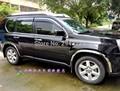 Автомобильный Стайлинг для Nissan X-Trail 2008-2013 ABS пластиковые вентиляционные Защита от солнца и дождя щит Delflector окно козырек тенты крышка 4 шт