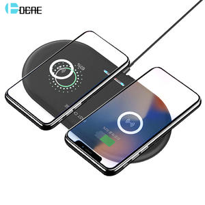 Dual-Charging-Pad Airpods Wireless-Charger Qi S20 iPhone 11 Samsung S10 10W 20W for XS