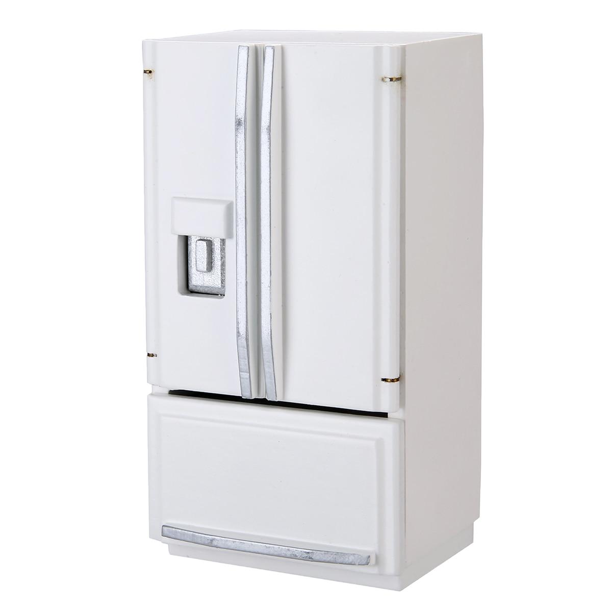 1:12 Dollhouse Furniture Mini Furniture Refrigerator Miniature Kids Living Room Pretend Play Toys Accessories