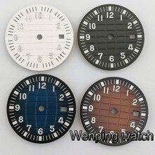 Стерильный циферблат 31,5 мм, подходящий для ETA 2824 2836 Miyota 8205 8215 821A 82series mingzhu 2813 3804, часовой циферблат