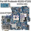 KoCoQin материнская плата для ноутбука hp Probook 4520S 4720S HM57 материнская плата 633552-001 H9265-4 48.4gk06041 2216-0774207 DDR3