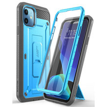 SUPCASE For iPhone 11 Case 6.1 (2019 Release) UB Pro Full-Body Rugged Holster Cover with Built-in Screen Protector & Kickstand supcase for iphone 11 pro max case 6 5 inch ub pro full body rugged holster cover with built in screen protector