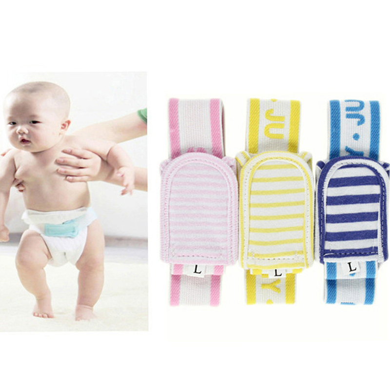 Baby Diapering New Fashion Safe And Comfortable Newborn Striped Diaper Fixed Belt Baby Care Accessories