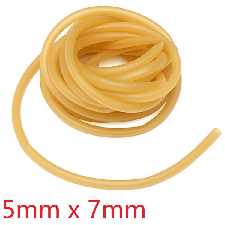 20M Natural Latex Rubber Elastic Band Surgical Tube Slingshot Catapult Tubing