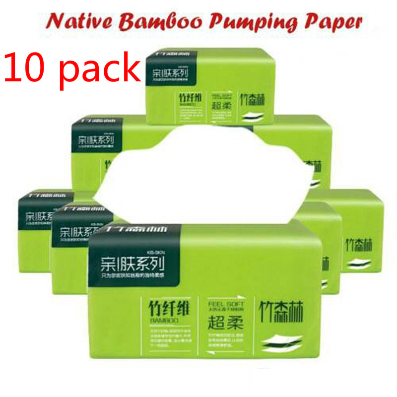 Paper Towels Log Pumping Paper 10 Packs Of Pumping Paper Towels Baby Paper Towels Household Soft Skin-Friendly Paper Towels Hot
