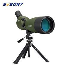 SVBONY 25-75 #215 70 luneta teleskop z powiększeniem FMC Bak4 pryzmat wodoodporna optyka polowanie na zewnątrz łucznictwo obserwacja ptaków SV14 tanie tanio CN (pochodzenie)