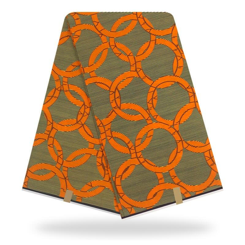 African Nigerian Real Holland Wax Fabric For Women Ankara 100% Cotton Prints Super Wax Fabrics Pange 6yards High Quality