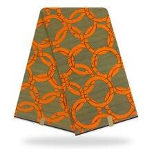 African Nigerian Real Holland Wax Fabric for Women Ankara 100% Cotton Prints Super Wax Fabrics Pange 6yards high Quality(China)