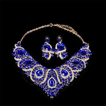 Luxury Tear Drop Shape Jewelry Set 5