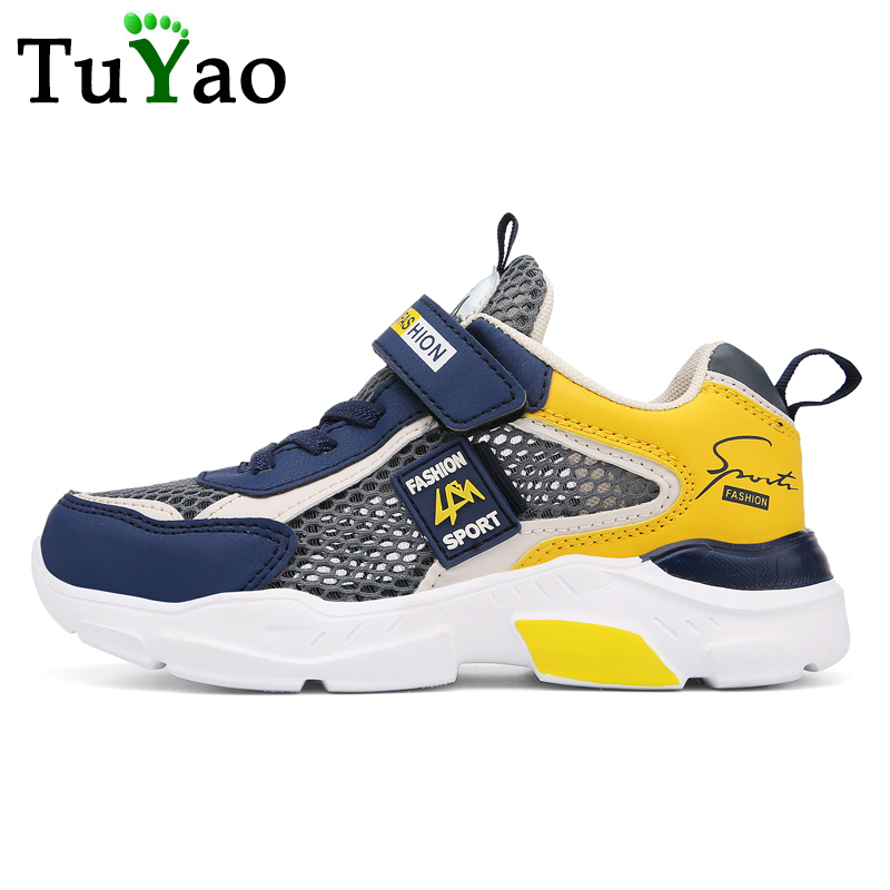 2020 Fashion Breathable Kids Sandals Lightweight Big Boys Baby Shoes Non-slip Children Casual Sneakers From Finish Size 28-40