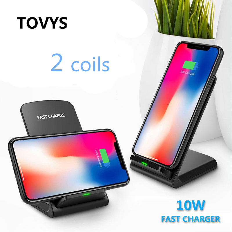 TOVYS Wireless-Charger Note10 S7 iPhone 11 Standard 8-X-Samsung Qi for XS Max-Xr 8-x-samsung/Note10/S11/.. title=