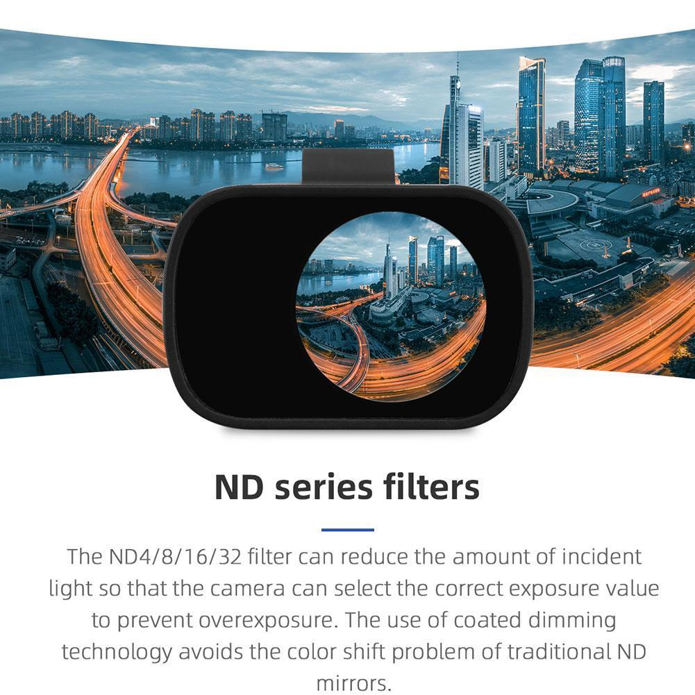DRONE-FILTER 32-Lens-Accessories Mavic DJI Mini 16 ND for U5P4 4-8 2-Protection 1pc Suitable