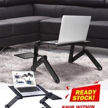 Stand Table-Desk-Stand Mouse-Pad Ergonomic Notebook Laptop Desk Pc-Table Aluminum
