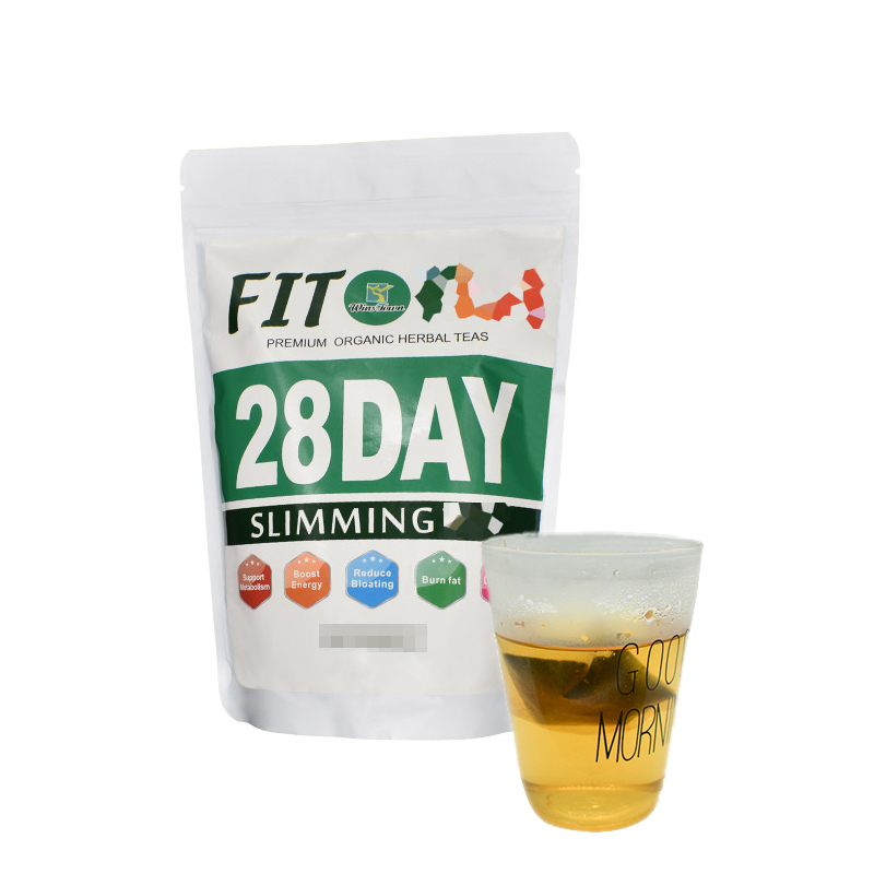 28 Days Natural Slimming Disposable Tea Bag Healthy Fat Buring Health Care Weight-Loss For Women&Men Detox Tea