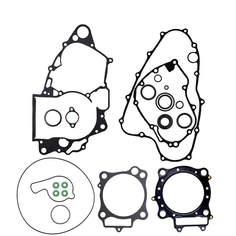 Детали двигателя мотоцикла, полная прокладка и сальник для Honda CRF450R 2007-2008 CRF450 CRF 450 R