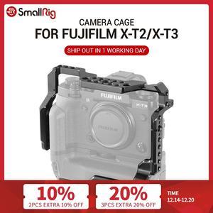 Image 1 - SmallRig DSLR Camera Cage for Fujifilm X T3 / for Fujifilm X T2 Camera with Battery Grip Free Shipping 2229