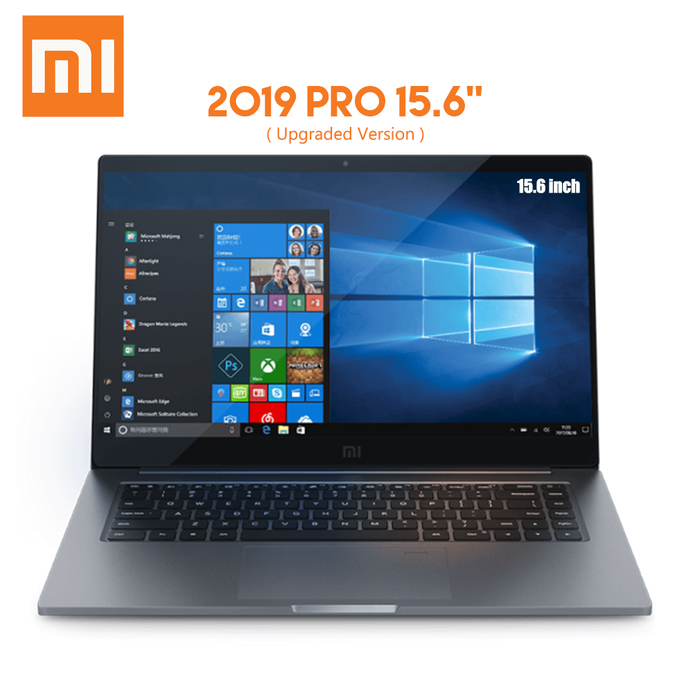 Original Xiaomi Pro 2019 Laptop 15.6 Inch Windows 10 Intel Core I5 - 8250U / I7 - 8550U 8GB RAM 256GB / 512GB SSD Computer PC