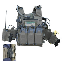 2020 New GTPC Quick Release Lightweight Tactical Shooting Range Training Vest PSI Version/Pull Rope without Spile