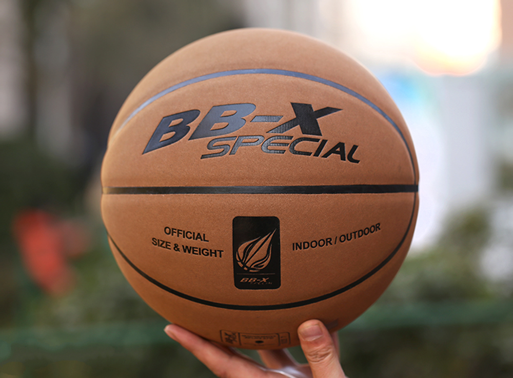 New High Quality Wearable Leather Good Feeling Size 7 Soft Leather Suede Basketball Outdoors Indoors
