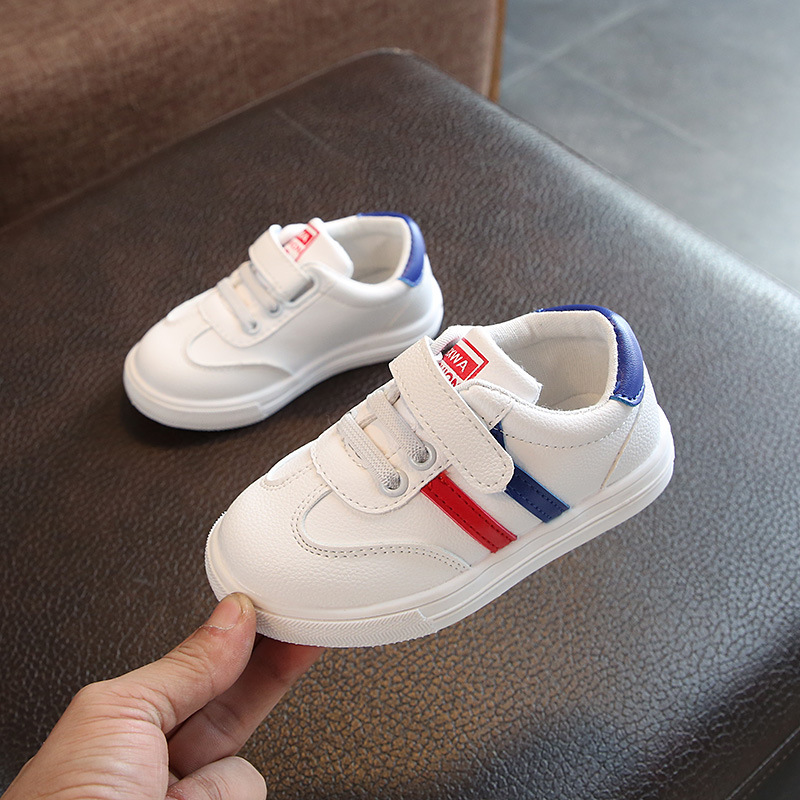 2020 Children Shoes For Boys Girls Casual Sneakers Kids Sports Shoes Air Mesh Breathable Hook & Loop Casual Sneakers Kids Shoes