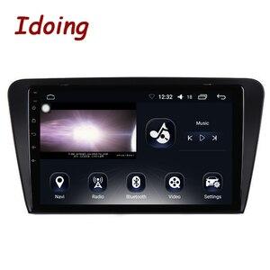 """Image 2 - Idoing 10.2 """"IPS 2.5D 4GB + 64GB 1Din Android oto araba radyo multimedya GPS oynatıcı Skoda octavia 2017 8 çekirdekli hızlı önyükleme NoDVD"""