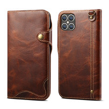 Real Leather 360 Protection Hoesje for iPhone 12 Pro Max Flip Case iPhone12 12Pro Soft Back Shell for iPhone 12 Mini Cover Etui