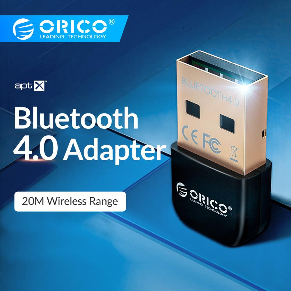 ORICO Wireless USB Bluetooth Computer Adapter 4.0 Aptx Bluetooth Dongle Music Transmitter Sound Receiver Bluetooth Adapter