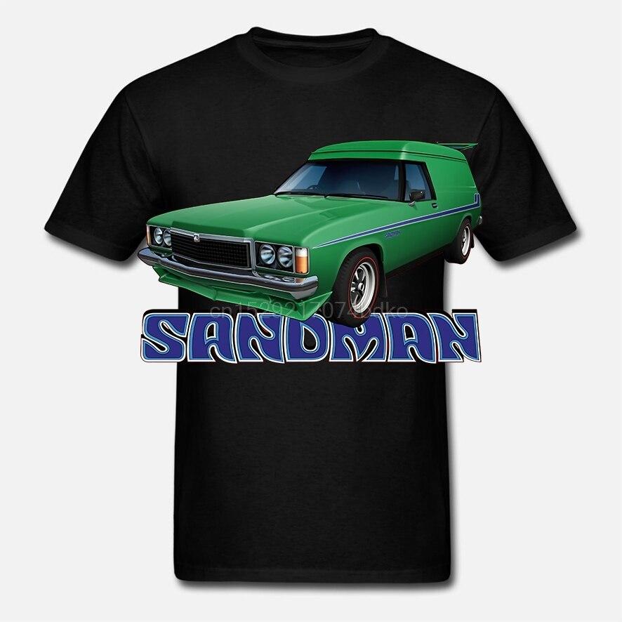 HOLDEN HZ  SANDMAN  PANELVAN QUALITY BLACK TSHIRT BIG FIT 6 CAR COLOURS