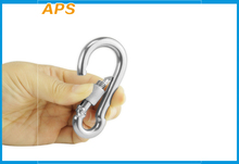 304 Stainless Steel Spring Snap Carabainer M6/M8/M10