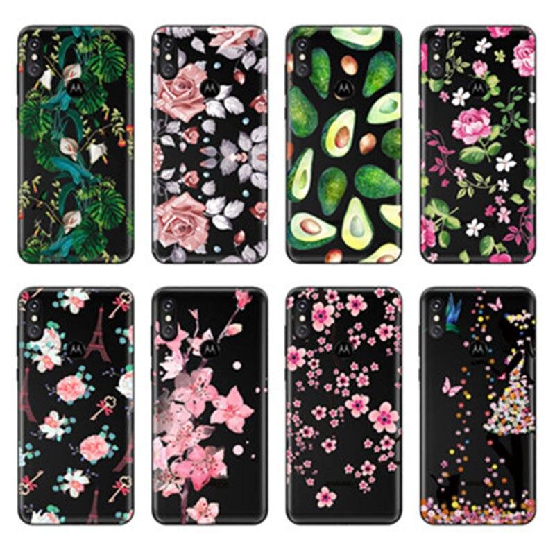 Soft Tpu Phone Case For Motorola Moto E4 G5 Play G5S G6 Plus G7 Cases Silicone Fundas For Moto One Power Cover Sheer Bumper