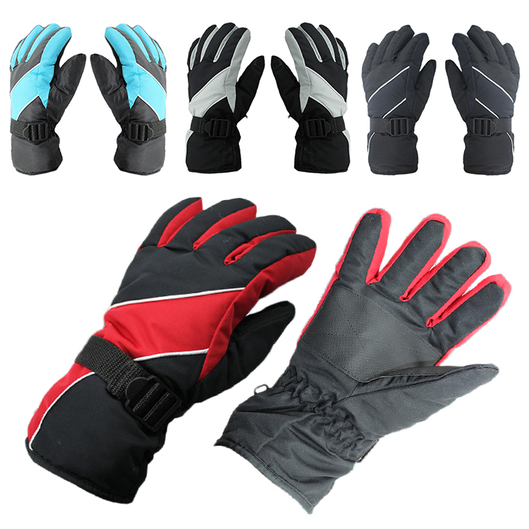 Outdoor Skiing Snowboard Sports Windproof Waterproof Winter Warm Gloves Skiing Gloves Winter Sports Accessories