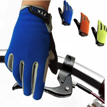 Cycling Gloves Kids Full Finger Pair Boys Girls Bike Bicycle Breathable Gloves Touchscreen Grip Outdoor Mountain 2-11 Years Old boodun 4 10 years old kids full finger cycling gloves skate sport mtb riding bmx mountain bike bicycle gloves for boys and girls