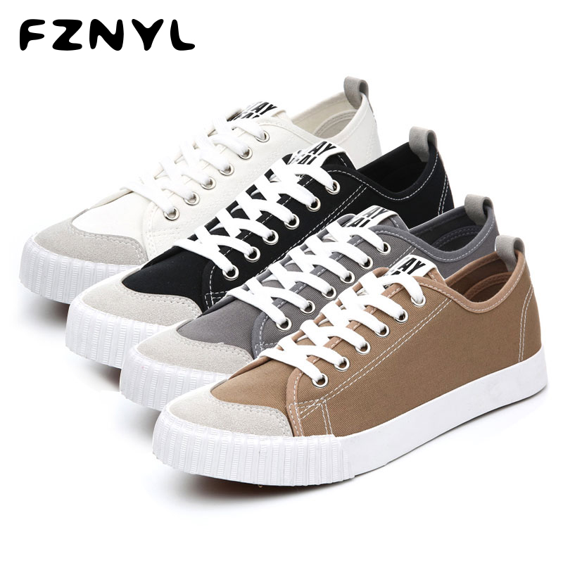 FZNYL Woman Canvas Shoes Flat Platform Loafers Vulcanize Footwear Female Outdoor Casual Fashion Classic Design Walking Sneaker
