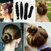 New Fashion Hair Tools Magic Quick Bun Make Hair Styling Long Headband Women Lady DIY Hairbands Girl Hair Bands Hair Accessories