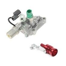 2 Pcs Car Accessories: 1 Pcs Blow Off Valve Noise Turbo Sound Whistle & 1 Pcs Engine Variable Timing Solenoid