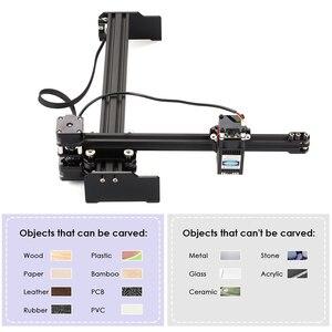 Image 1 - 20W Macchina Per Incisione Laser Mini Desktop Laser Engraver Stampante Art FAI DA TE Incisione Laser Cutter per Legno Di Bambù Di Plastica